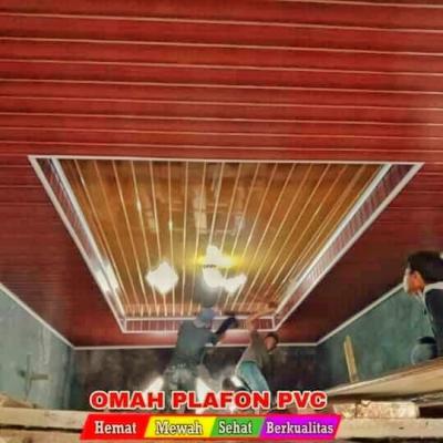 Pasang Plafon PVC Tenaga Tukang Profesional Distributor Plafon PVC PLAFON PVC MURAH PLAFON PVC PER METER JUAL PLAFON PVC